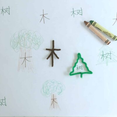 Forming Chinese Nature Words with Pipe Cleaners – Hands-On Chinese Fun!