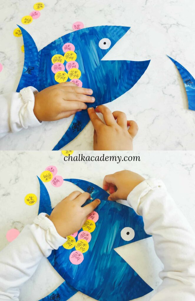 Fish Anatomy Paper Plate Craft - Fun Learning Activity for Kids!