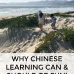 Why Chinese learning can and should be fun