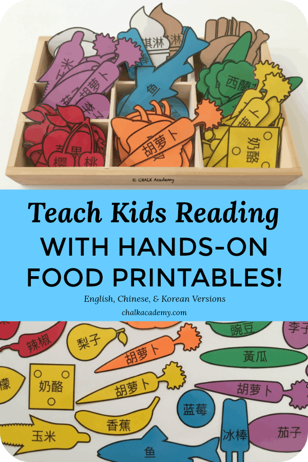 Food - Pretend Play Printables