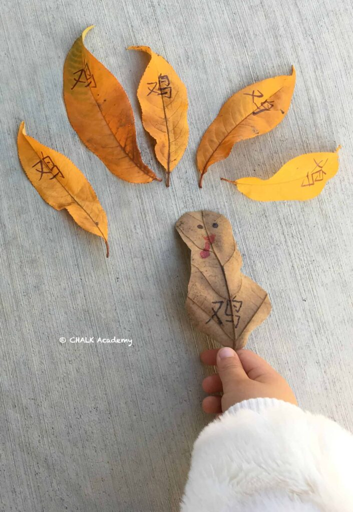 Make a Turkey with Leaves! A Literacy Activity