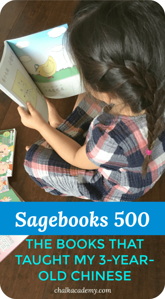Sagebooks 500 Simplified and traditional Chinese - teach kids how to read Chinese 基础汉字500