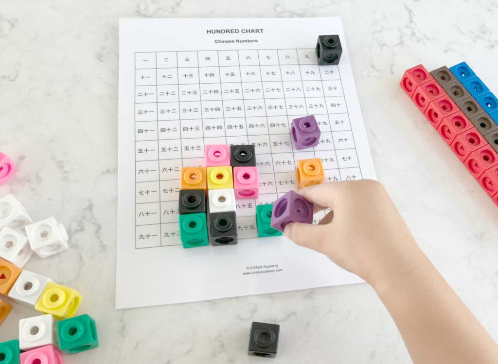 Learning Resources Mathlink Cubes - Counting and Math Education