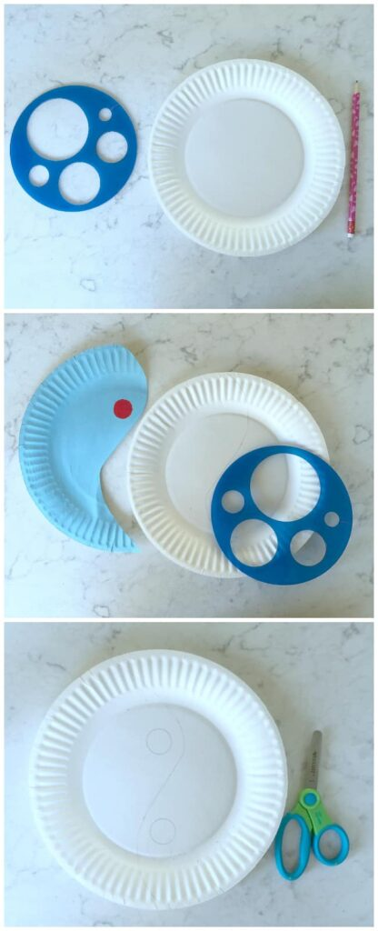 Yin-Yang Paper Plate Puzzle