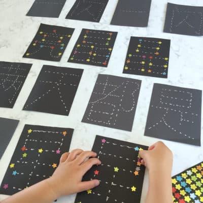Chinese Twinkle Twinkle Little Start - Constellation Sticker Activity