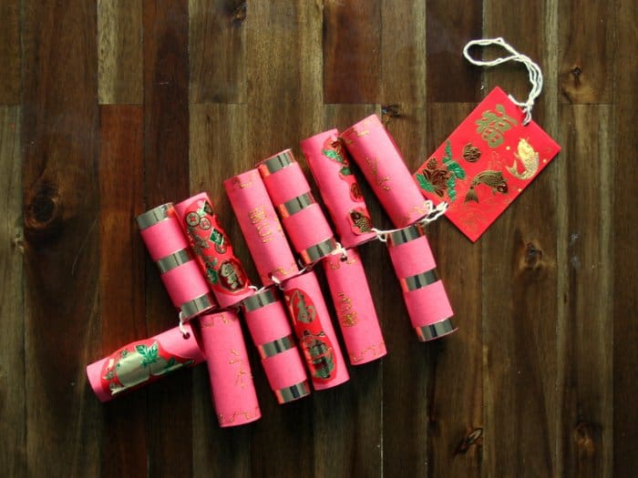Chinese New Year firecrackers craft for children