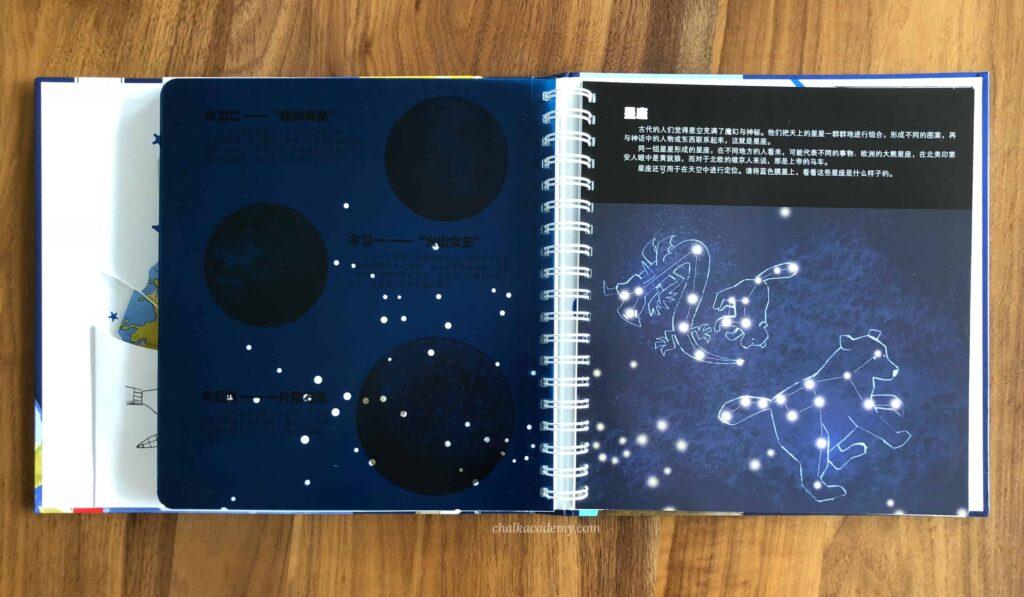 我的太空 (My Outer Space) constellations ISBN: 9787541760624