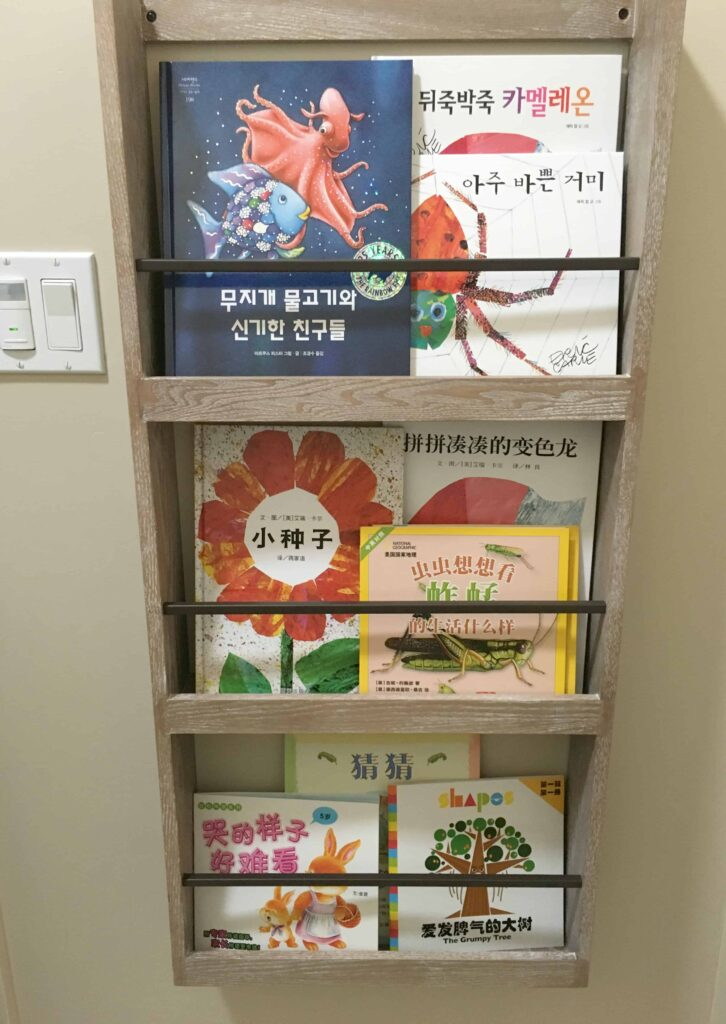 Pottery Barn Kids Book Rack to Display Book Covers