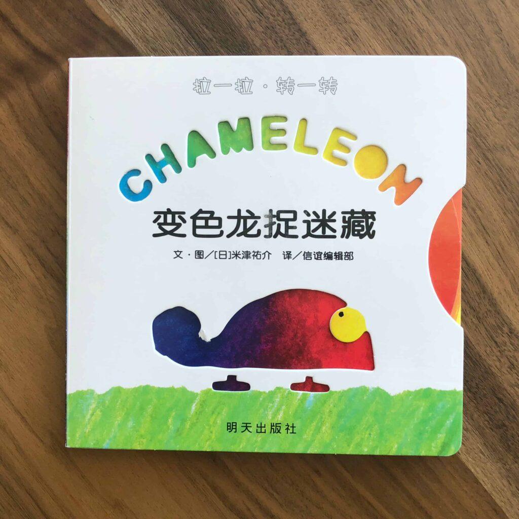 Rainbow Chameleon book by By Yusuke Yonezu
