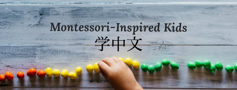 Montessori Kids Learning Chinese and English