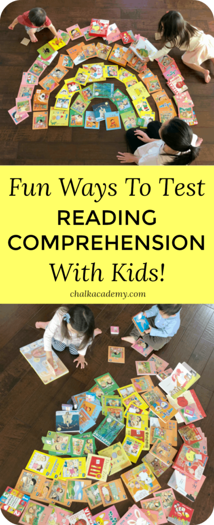Fun ways to test reading comprehension