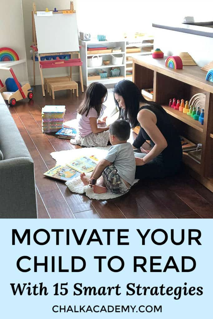 Motivate Your Child to Read with 15 Smart Strategies - Reading tips for parents and teachers