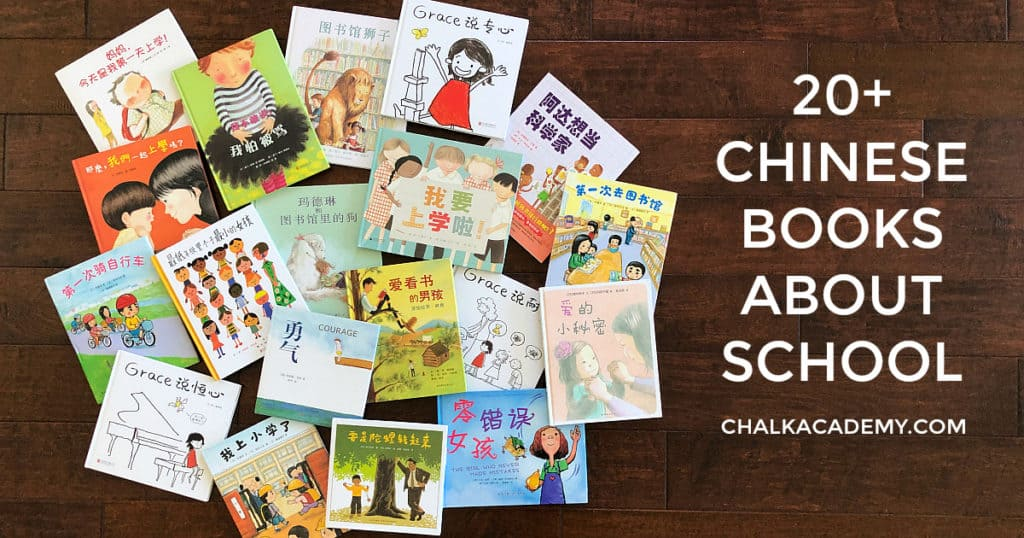20 Chinese books about school