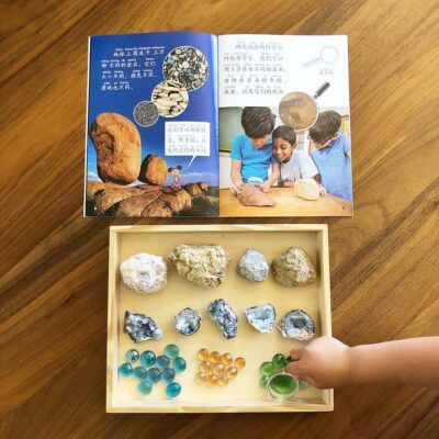 Exploring Nature, Geodes, and Rock Arches with Children