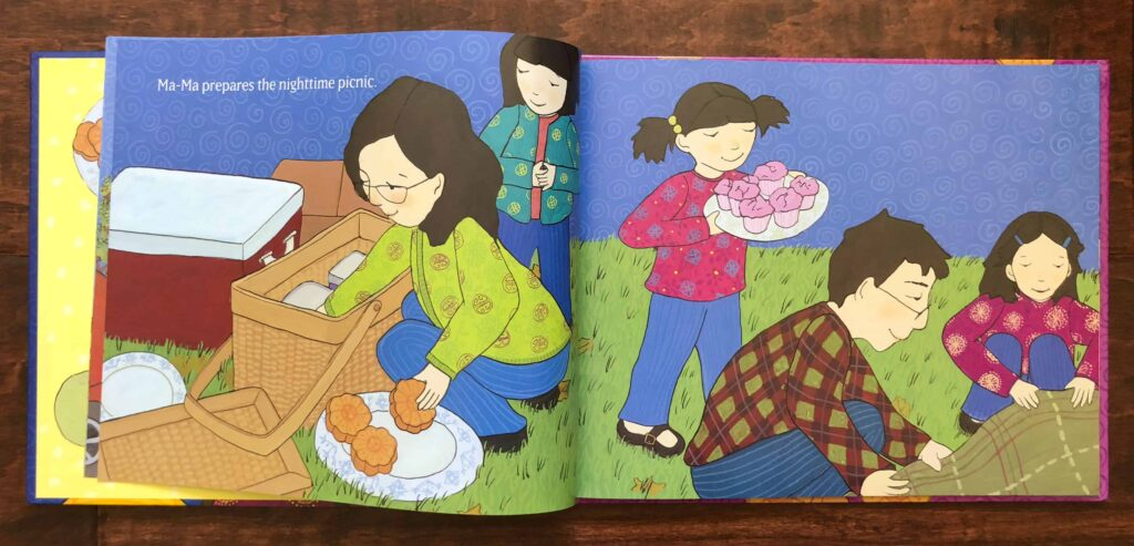 Thanking the Moon - Mid Autumn Festival Book by Grace Lin