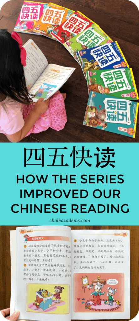 四五快读 Review & How We Used Si Wu Kuai Du as Non-Native Chinese Speakers To Learn How to Read Chinese, SiWuKuaiDu / 4, 5 Fast read