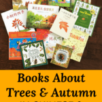 Tree and Autumn Books in Chinese and English
