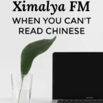How to Use Ximalaya Fm When You Can't Read Chinese