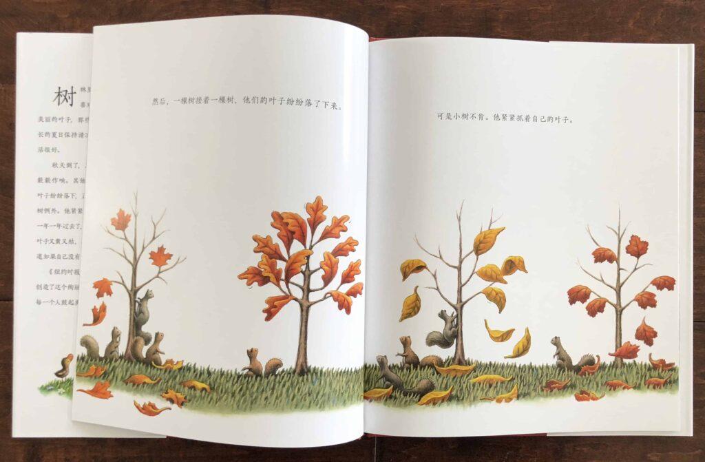 小树的四季 (Little Tree's Four Seasons) by Loren Long