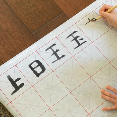 Chinese Calligraphy Practice: Magic Water Writing Cloth and 地书 (VIDEO)