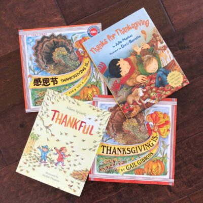 Thanksgiving Books for Young Children in English & Chinese