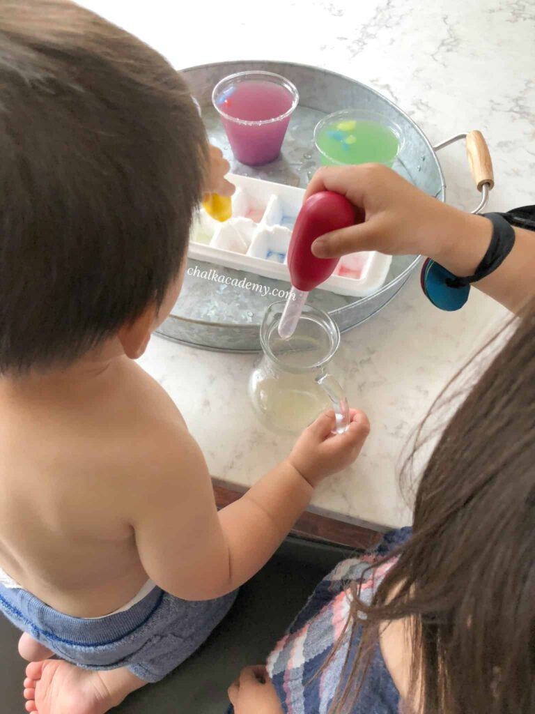 Learning Resources Jumbo droppers pipettes for kids