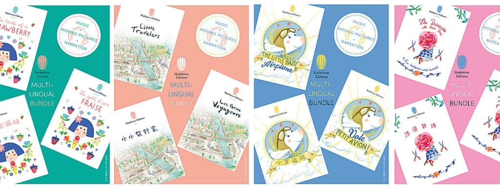 Madeleine Editions - Multilingual books for children (English, Chinese, French) - available on iBooks - Interview with Eva Lou
