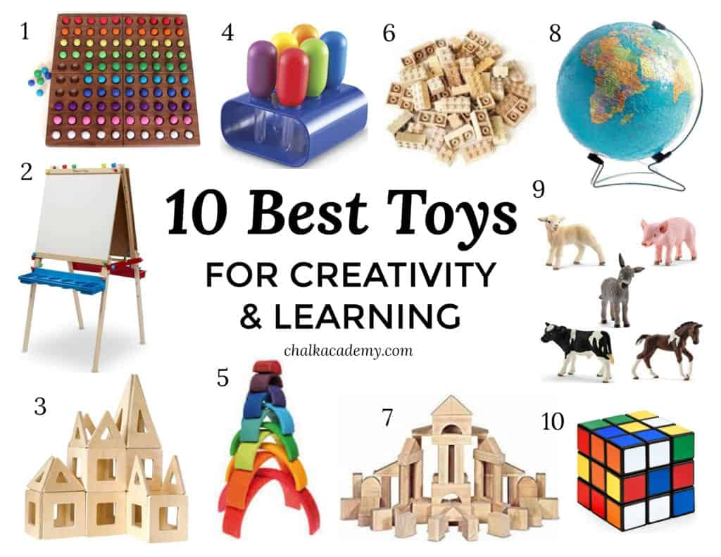 TOP 10 TOYS FOR KIDS THAT PROMOTE CREATIVITY & LEARNING