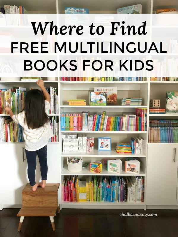 Websites with free mutlilingual books for kids