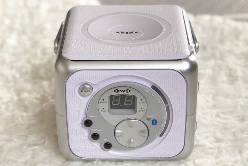 Jense CD Player for Kids - Where to Put it and How to Organize for Kids