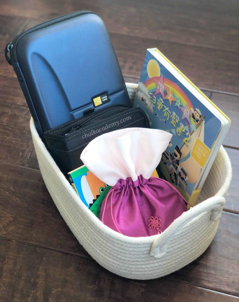 CD organization for kids - Montessori Homeschool Preschool Tips