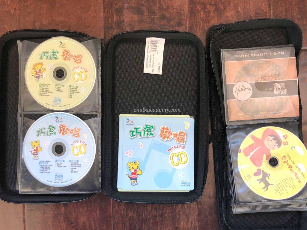 Case Logic CD Wallet Zipper Cases