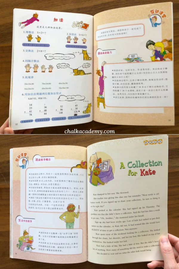Math story: A Collection for Kate 小凯特的大收藏 (数学概念:加法); 数学帮帮忙 Math Matters Series (Bilingual Simplified Chinese and English)