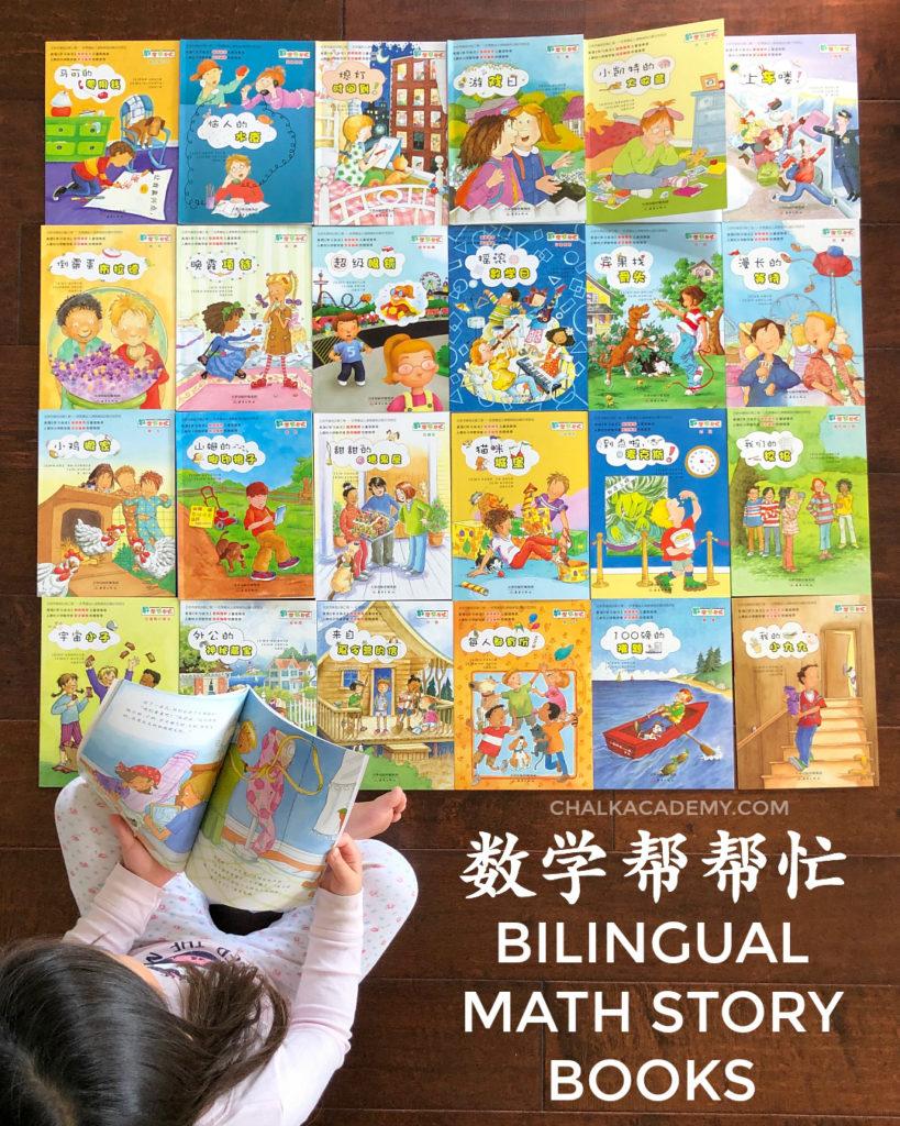 数学帮帮忙 Math Matters Bilingual Chinese English story books