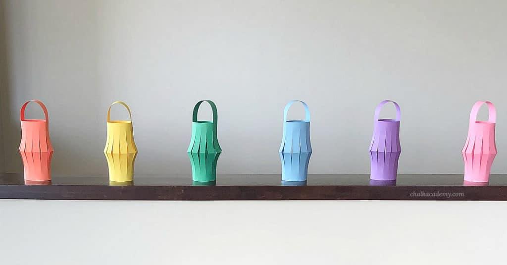 Chinese New Year paper lantern craft