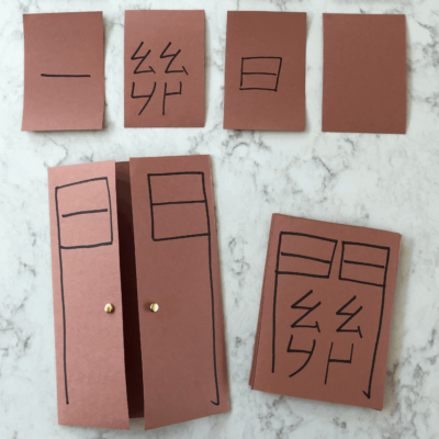 Common Chinese door radical characters