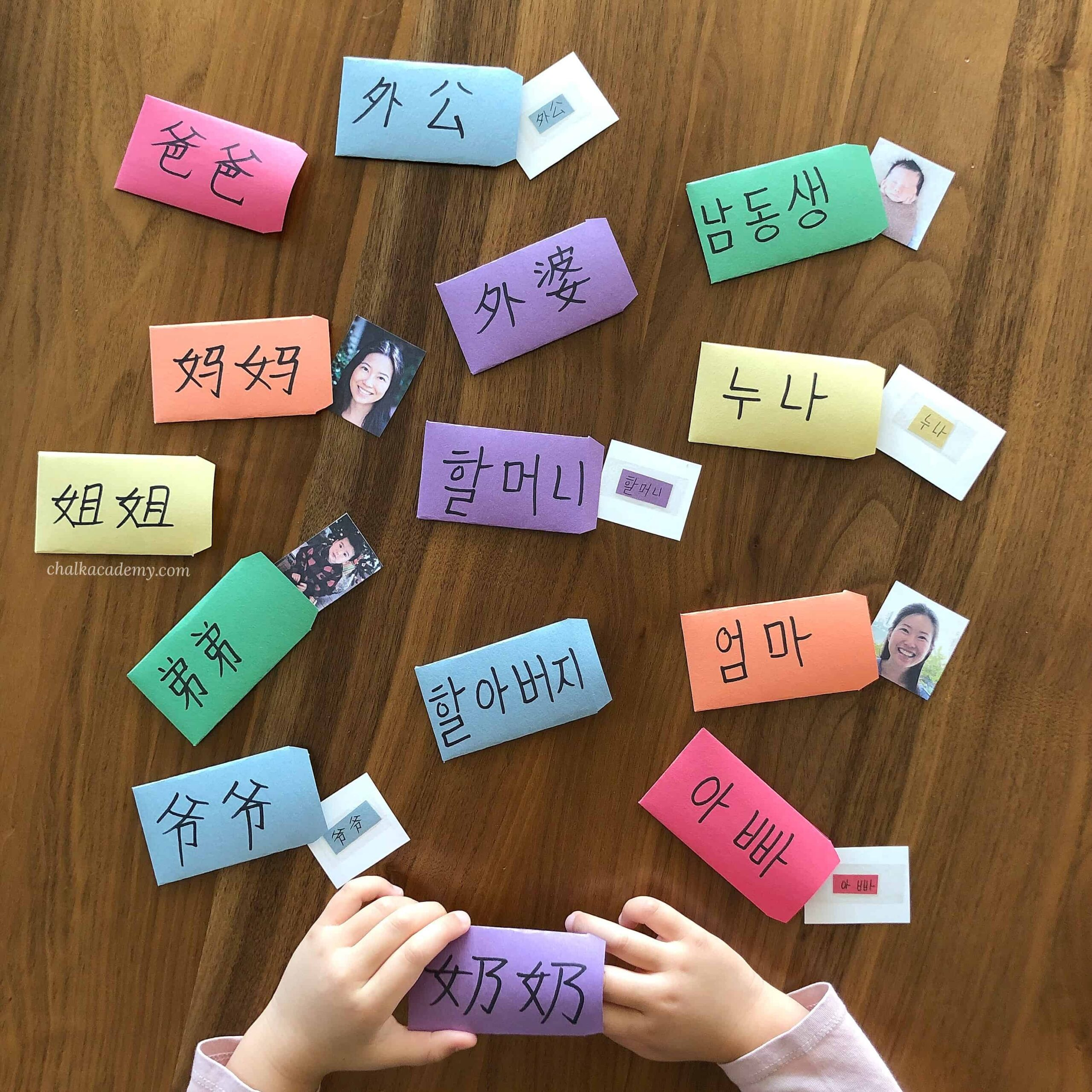 Family Members Learning Activity for Kids: Sight Word Envelope Surprise!