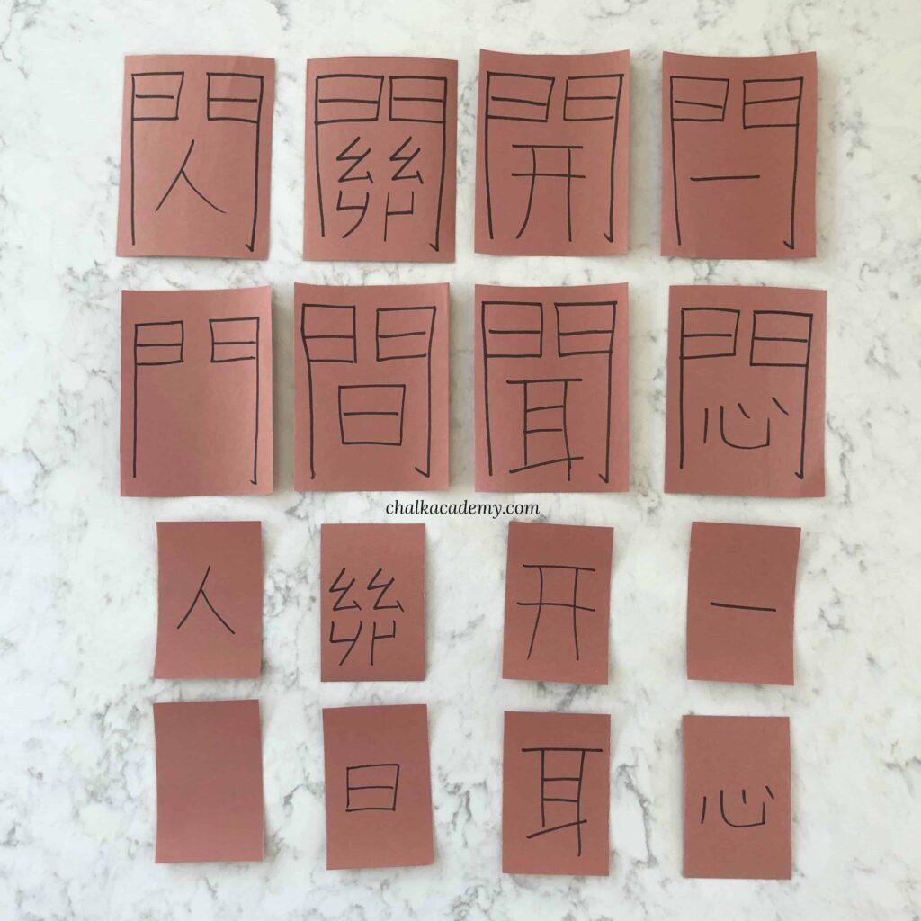 Chinese door radical activity