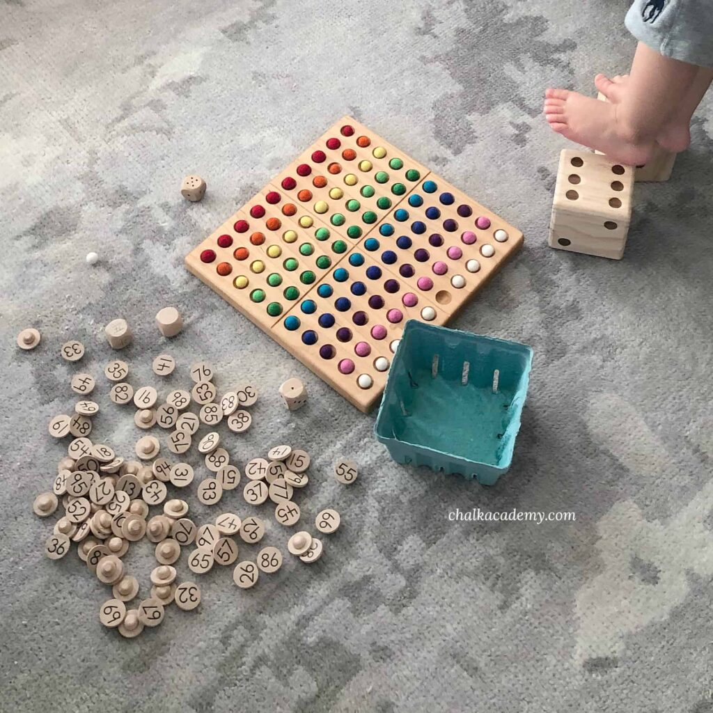 Fun ways to use a Hundred Board