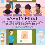 Safety first: why kids need to learn real names for private parts