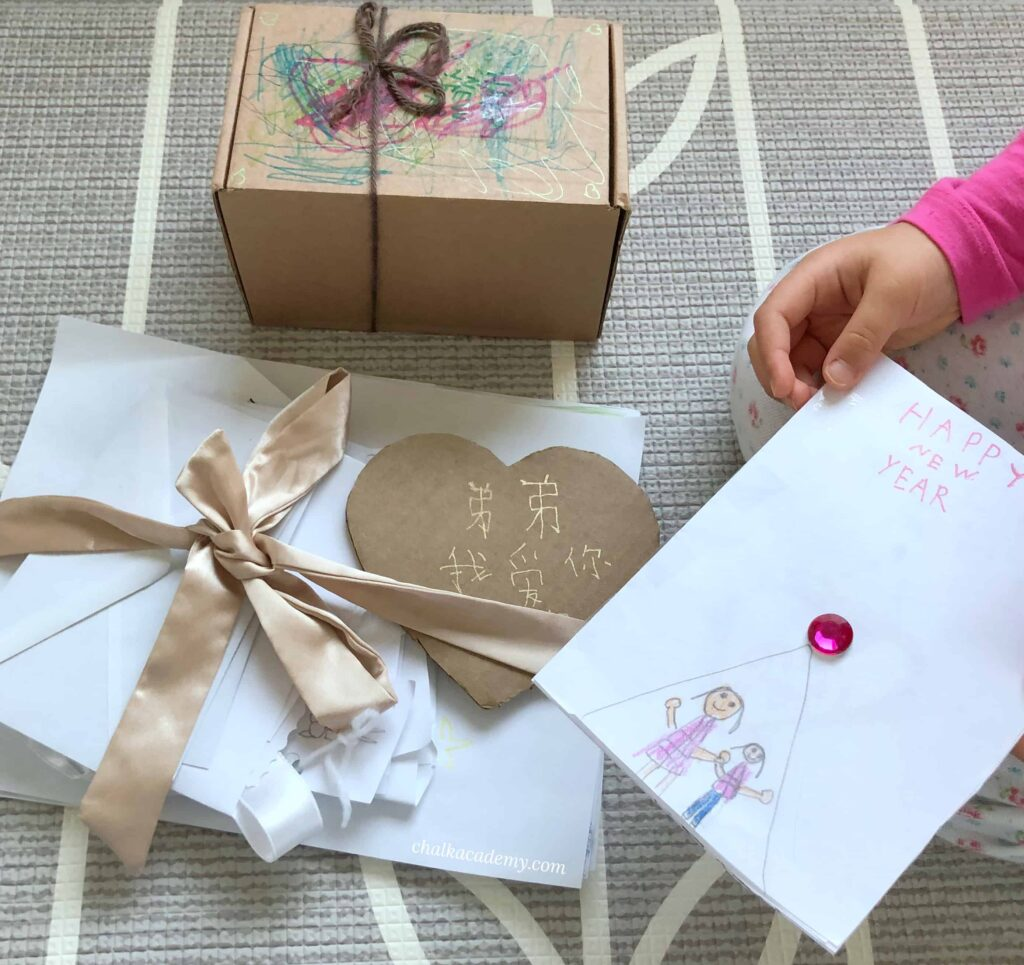Handmade cards and gifts from my daughter