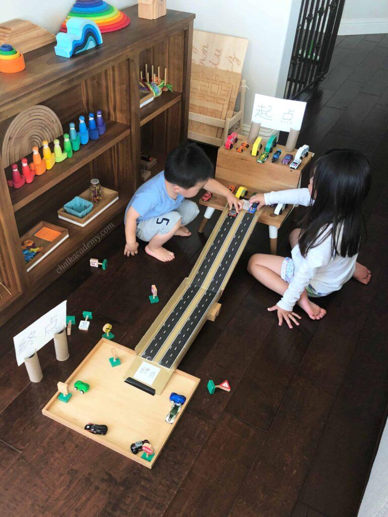 DIY Cardboard car ramp