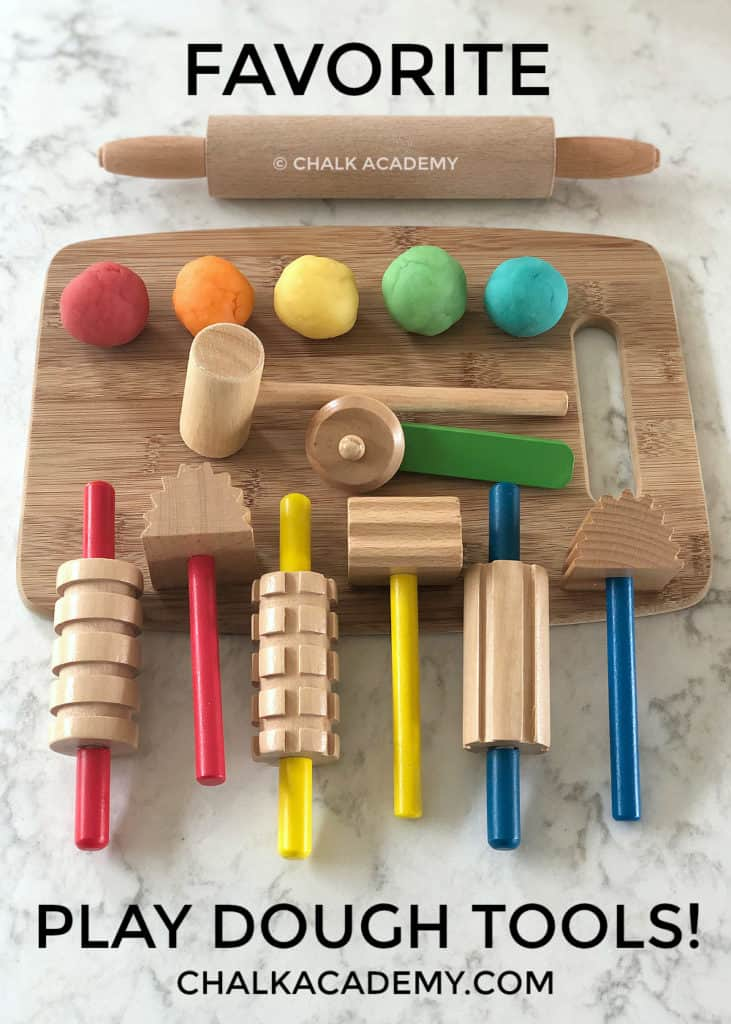 Favorite play dough tools for children
