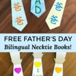 Free father's day Bilingual Necktie Books! Chinese and English