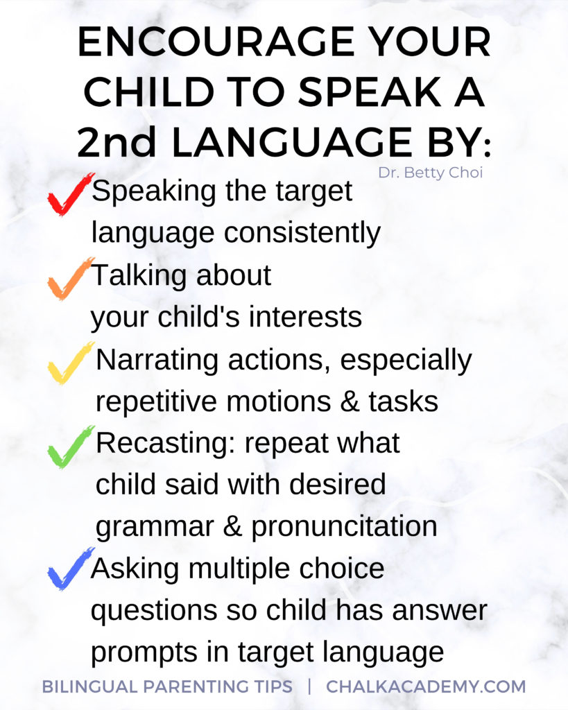 tips for encouraging minority language