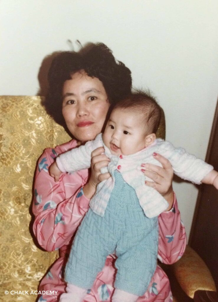 Baby me and Auntie; Auntie's Advice on Accents: Be Patient, and Take More Time to Listen