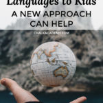 Teaching minority languages to kids - a new approach can help