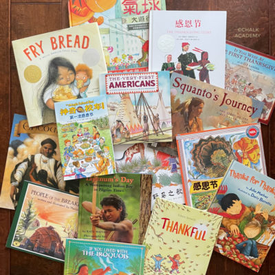 15 Thanksgiving & Native American Picture Books in English & Chinese