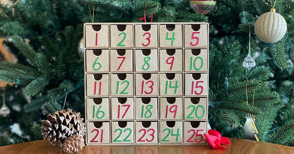 Minimalist, Modern, Faith-based Advent Calendar