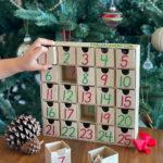 DIY Faith-Based Modern Advent Calendar for Christmas Countdown with 25 Bible Verses
